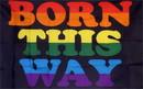 NEOPlex F-1614 Born This Way Rainbow 3'X 5' Flag