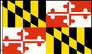 NEOPlex F-1647 Maryland State 2'X 3' Flag