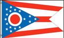 NEOPlex F-1662 Ohio State 2'X 3' Flag