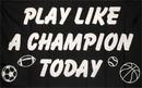 NEOPlex F-1686 Play Like A Champ 3'X 5' Flag