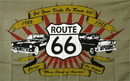 NEOPlex F-1687 Route 66 3'X 5' Flag