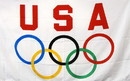 NEOPlex F-1697 Usa Olympics Logo 3'X 5' Flag