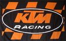 NEOPlex F-1889 Ktm Racing 3'X 5' Flag