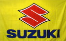 NEOPlex F-1897 Suzuki Motocross 3'X 5' Flag
