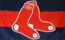 NEOPlex F-1907 Boston Red Sox Logo 3'X 5' Mlb Flag