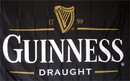 NEOPlex F-1921 Guinness Beer Black Novelty 3'X 5' Flag