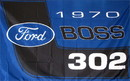 NEOPlex F-1922 Ford Boss 302 Automotive 3'X 5' Flag