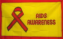 NEOPlex F-1965 Aids Awareness 3'X 5' Novelty Flag