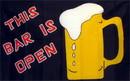 NEOPlex F-2054 Bar Open Beer Mug 3'X 5' Flag