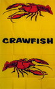 NEOPlex F-2135 Vertical Crawfish 3'X 5' Flag