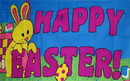 NEOPlex F-2228 Happy Easter Religious 3'X 5' Flag