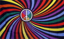 NEOPlex F-2447 Rainbow Peace Swirl 3'X 5' Novelty Flag