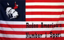 NEOPlex F-2474 Us Rodeo #1 Historical 3'X 5' Flag