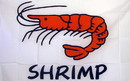 NEOPlex F-2500 Shrimp White 3'X 5' Flag