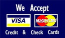 NEOPlex F-2593 Visa-Mastercard 3'X 5' Flag