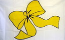 NEOPlex F-2607 Yellow Ribbon 3'X 5' Novelty Flag
