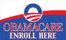 NEOPlex F-2681 Obamacare Enroll Here 3' X 5' Flag