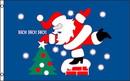 NEOPlex F-2720 Santa Ho Ho Ho W/Tree Poly 3' X 5' Flag