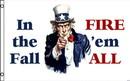 NEOPlex F-2737 In The Fall Fire 'Em All 3' X 5' Flag
