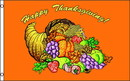 NEOPlex F-2760 Happy Thanksgiving Orange Poly 3' X 5' Flag