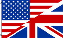 NEOPlex F-2818 Usa / Uk Friendship Poly 3' X 5' Flag