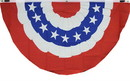 NEOPlex F-2834 Usa Bunting 5'X3' Poly Flag