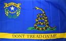 NEOPlex F-2847 DON'T TREAD ON ME NEVADA 3'X5' POLY FLAG