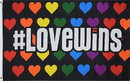 NEOPlex F-2851 Love Wins 3'X5' Poly Flag