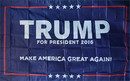 NEOPlex F-2857 Trump Usa 3'X5' Poly Flag
