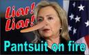NEOPlex F-2861 Hillary Liar Liar 3'X5' Poly Flag