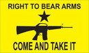 NEOPlex F-8034 Come And Take It Right To Bear Arms Custom 3'X 5' Flag