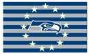 NEOPlex F-8042 Seattle Seahawks Stars & Stripes 3'X 5' Nfl Flags