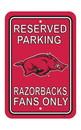 NEOPlex K50204 Arkansas Razorbacks Parking Sign