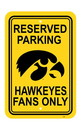 NEOPlex K50227 Iowa Hawkeyes Parking Sign