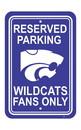 NEOPlex K50228 Kansas State Wildcats Parking Sign