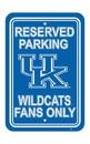 NEOPlex K50230 Kentucky Wildcats Parking Sign