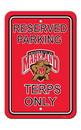 NEOPlex K50236 Maryland Terrapins Parking Sign