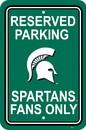 NEOPlex K50239 Michigan State Spartans Parking Sign