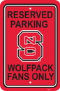 NEOPlex K50248 North Carolina State Wolfpack Parking Sign