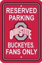 NEOPlex K50251 Ohio State Buckeyes Parking Sign