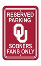 NEOPlex K50253 Oklahoma Sooners Parking Sign