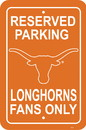 NEOPlex K50267 Texas Longhorns Parking Sign