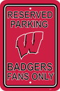 NEOPlex K50275 Wisconsin Badgers Parking Sign