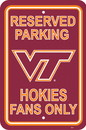 NEOPlex K50276 Virginia Tech Hokies Parking Sign