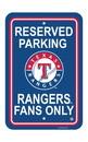 NEOPlex K60213 Texas Rangers Parking Sign