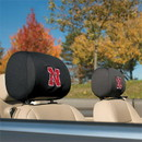 NEOPlex K82005 Nebraska Huskers Headrest Covers