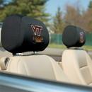 NEOPlex K82011 Virginia Tech Hokies Headrest Covers