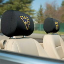 NEOPlex K82012 West Virginia Mountaineers Headrest Covers