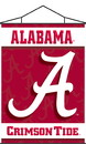 NEOPlex K87002 Alabama Crimson Tide Indoor Banner Scroll
