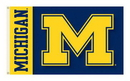 NEOPlex K92003-MICHIGAN Michigan Wolverines 3'X 5' Double Sided Flag